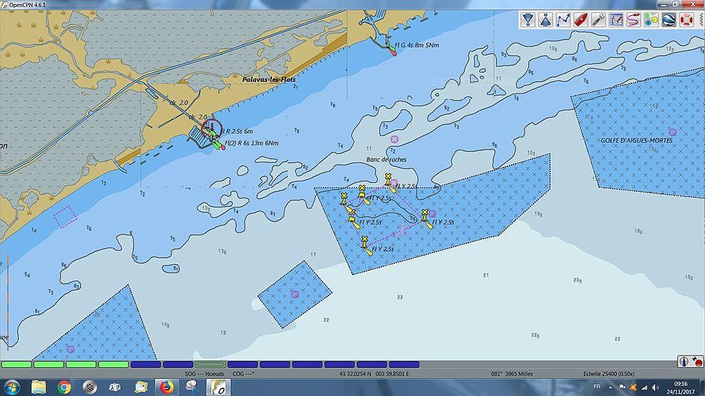 Carte Marine Libre Acces