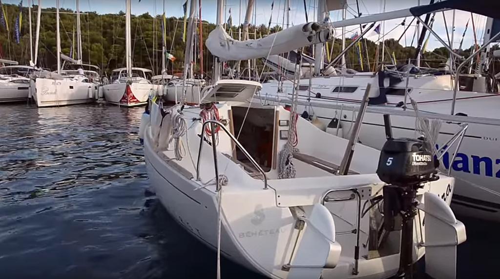 bateaux Echelle de secours 4 échelons voiliers Plastimo